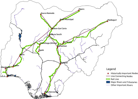 New technology, better economy? The heterogeneous impact of colonial  railroads in Nigeria - ScienceDirect