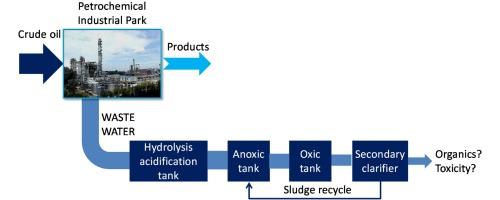 Appling hydrolysis acidification-anoxic–oxic process in the