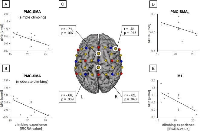Characterizing Cortical Hemodynamic Changes During Climbing And Its Relation To Climbing Expertise Sciencedirect