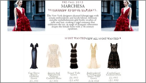 co branded curationmoda operandi e commerce fashion company and marchesa fashion brand - Ww Ecommerce Ny