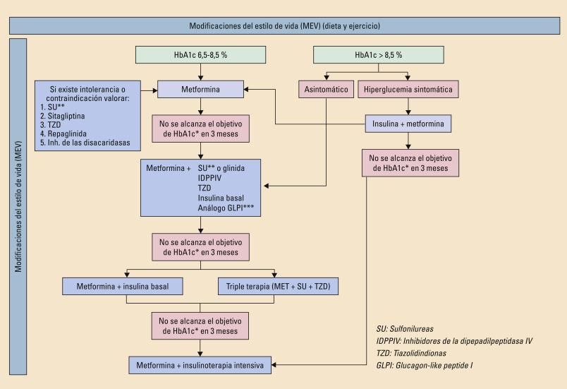 mecanismo de acción de metformina en obesidad y diabetes