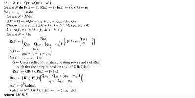 Minimizing the tracking error of cardinality constrained