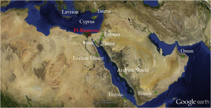 Copper For The Pharaoh Identifying Multiple Metal Sources For