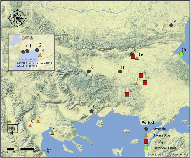Prehistoric cereal foods of southeastern Europe: An
