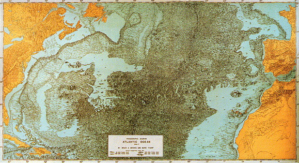 Extending modern cartography to the ocean depths military patronage physiographic diagram of the atlantic ocean by bruce c heezen and marie tharp 1957 this large scale map measuring roughly 71 141 cm publicscrutiny Images