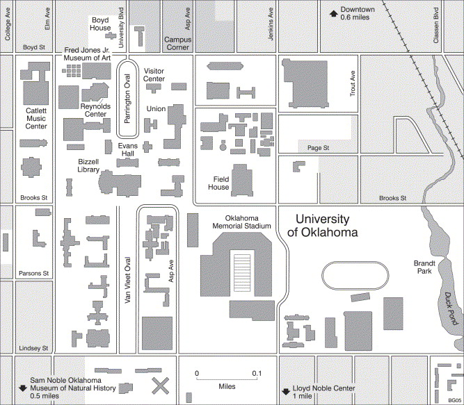 Albuquerque Academy Campus Map.The Campus As A Public Space In The American College Town
