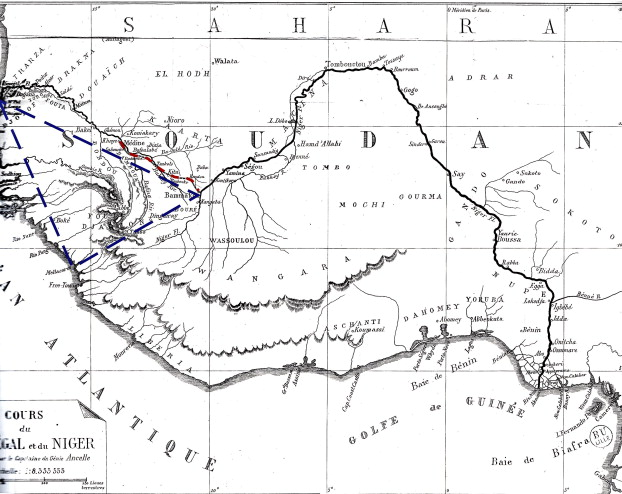 French Military Officers And The Mapping Of West Africa The Case Of