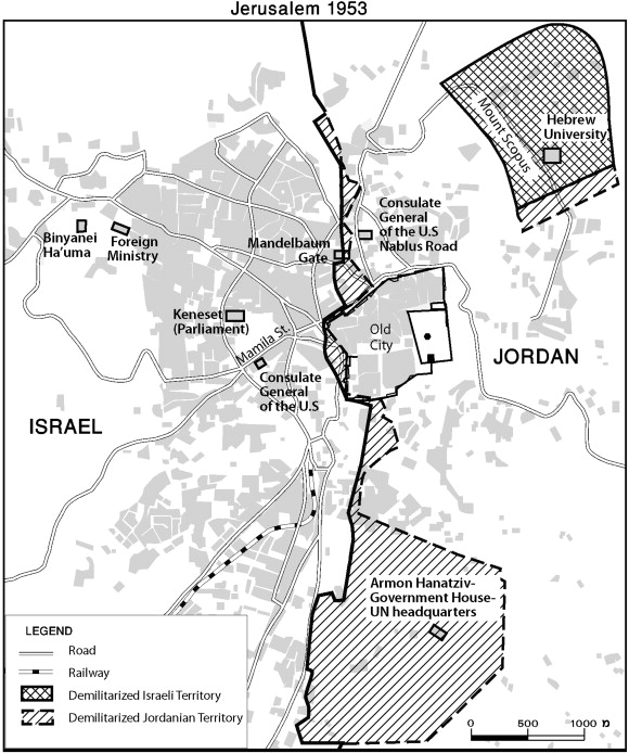 The relocation of the Israeli Foreign Ministry in 1953 and the