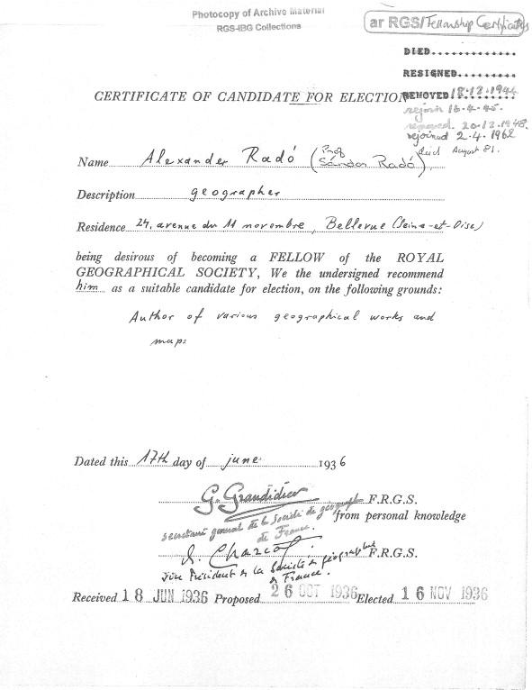 The interrogation of Sándor Radó: geography, communism and espionage ...