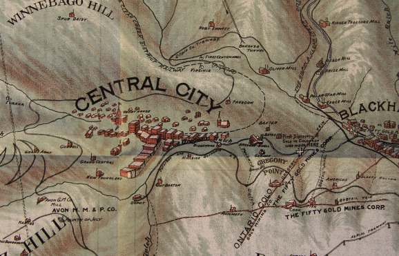 Cartography And Capitalism George Clason And The Mapping Of - Denver Circled On Us Map