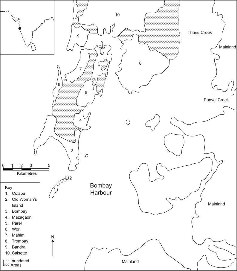 Making Bombay Island Land Reclamation And Geographical Conceptions