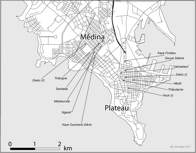 Beneath the city's grid: vernacular and (post-)colonial planning