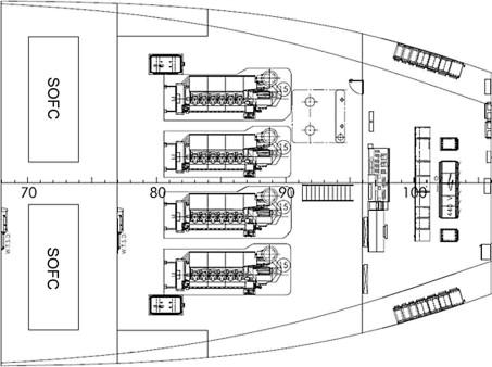Conceptual design of offshore platform supply vessel based on hybrid
