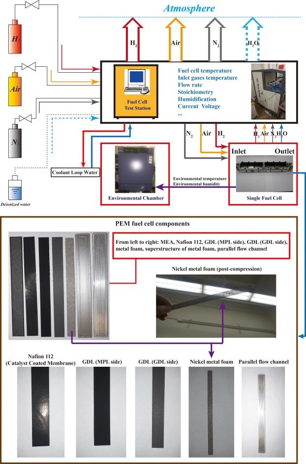 Experimental investigation on PEM fuel cell cold start behavior