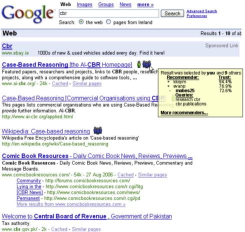 Social Summarization In Collaborative Web Search Sciencedirect