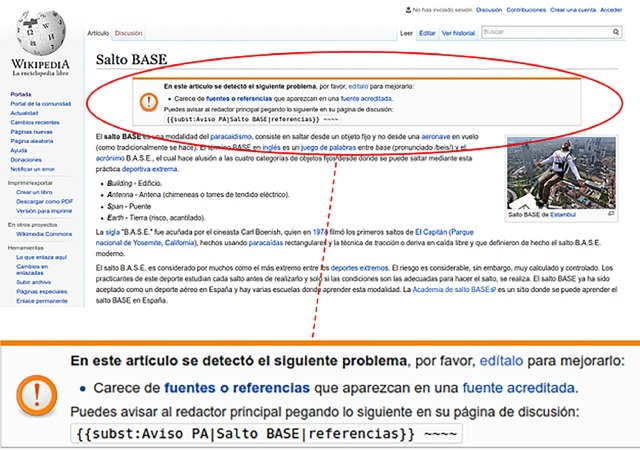 Quality flaw prediction in Spanish Wikipedia: A case of