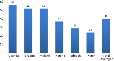 How much of the labor in African agriculture is provided by