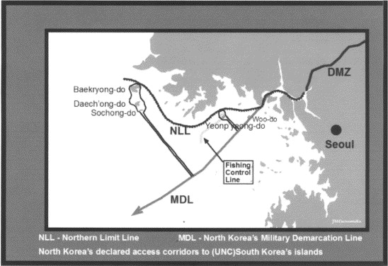 The North/South Korea Boundary Dispute in the Yellow (West