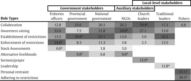 Towards a functional typology of small-scale fisheries co-management