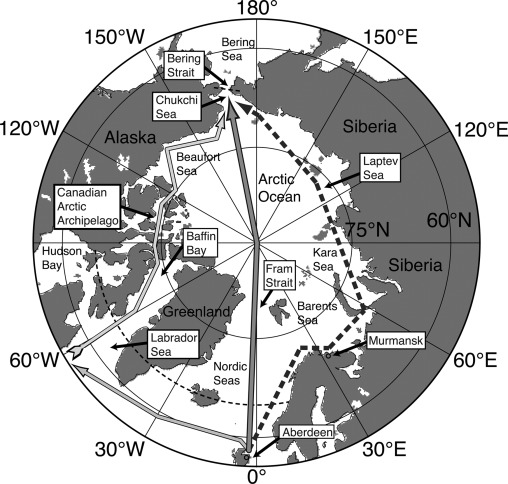 On The Future Navigability Of Arctic Sea Routes High Resolution
