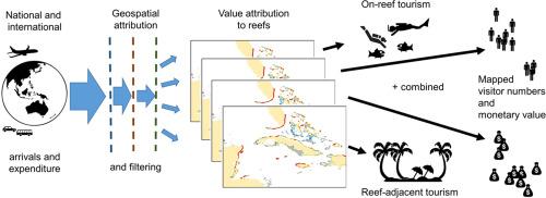 mapping the global value and distribution of coral reef tourism