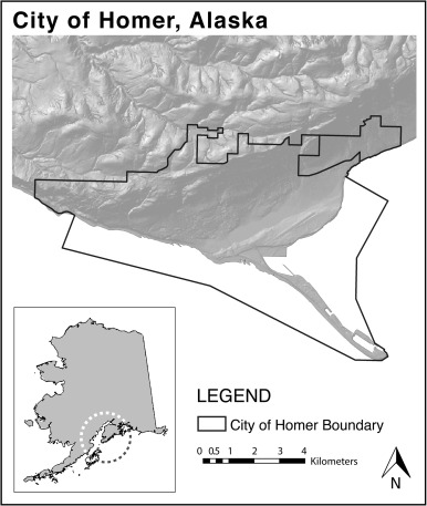 Bonanza Map Of Homer Alaska on