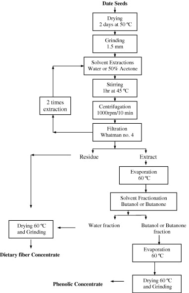 Optimization Of Phenolics And Dietary Fibre Extraction From Date