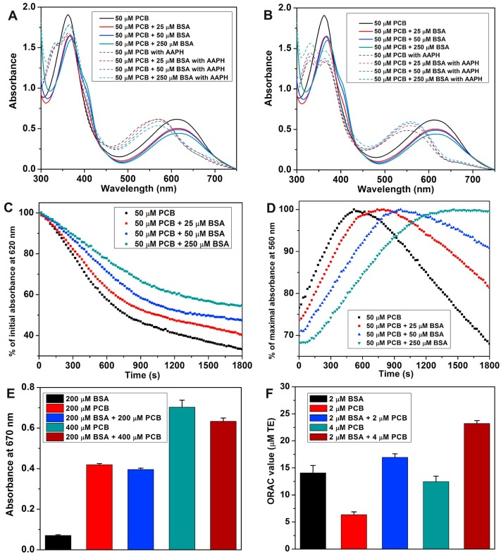 Characterization and effects of binding of food-derived