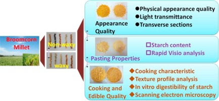 Comparison of physicochemical properties and cooking edibility of