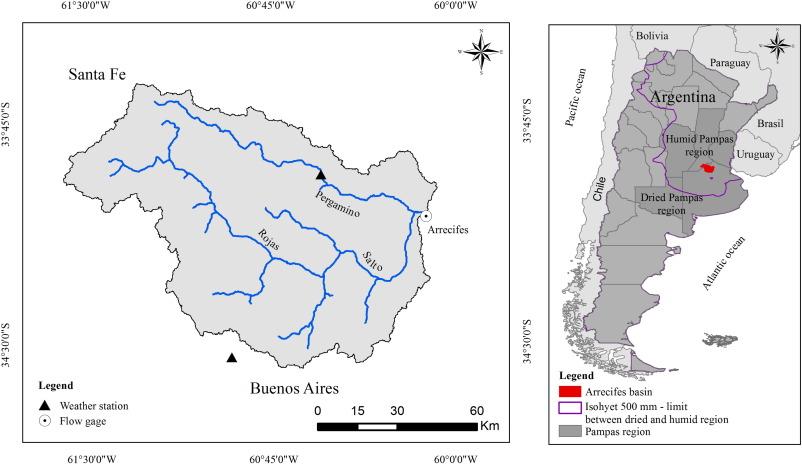 Pampas Location