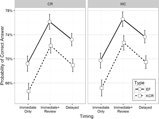 Effects of feedback elaboration and feedback timing during