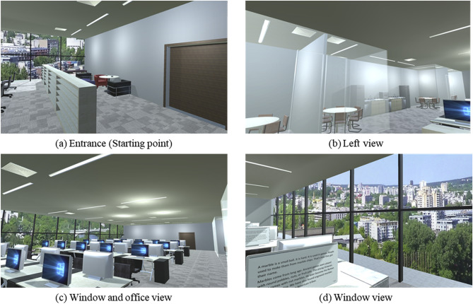 Spatial Perception Of Ceiling Height And Type Variation In
