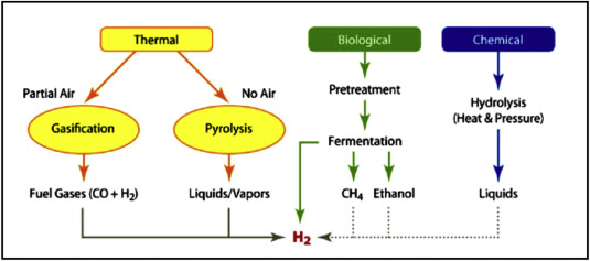 Economic assessment and prospect of hydrogen generated by