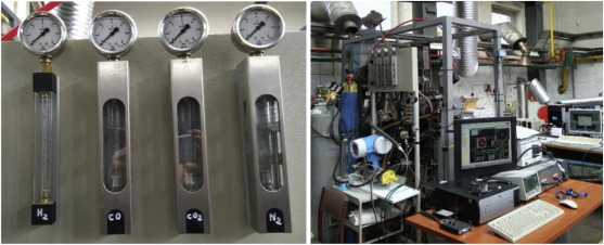 Efficiency and pollutant emissions of an SI engine using biogas