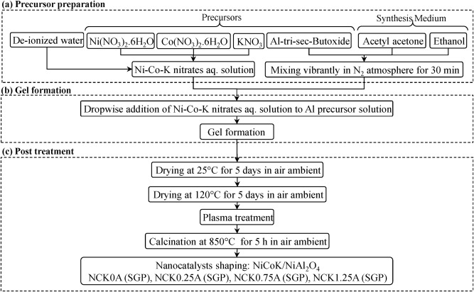 Synergic influence of potassium loading and plasma-treatment