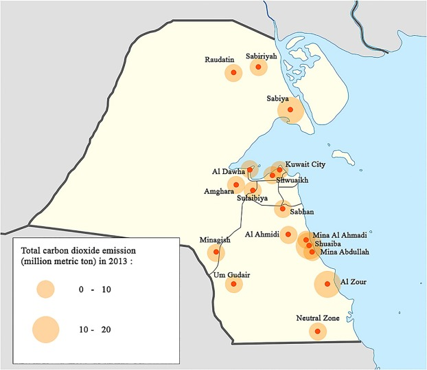 The first carbon atlas of the state of Kuwait - ScienceDirect
