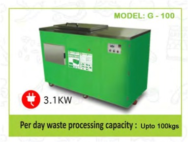 Municipal waste management systems for domestic use