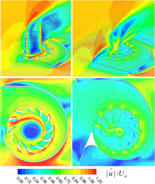 radial inflow wind turbines