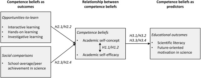 Students' self-concept and self-efficacy in the sciences ...