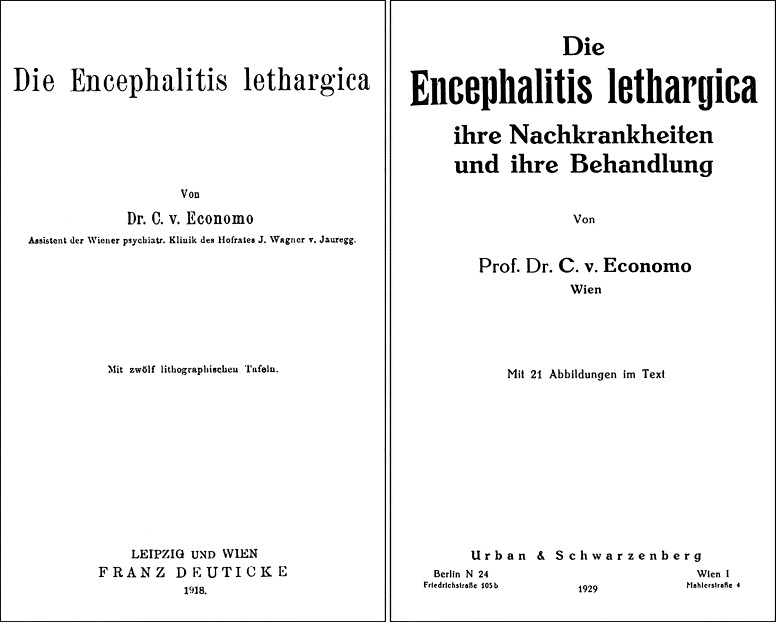 The percipient observations of Constantin von Economo on ...