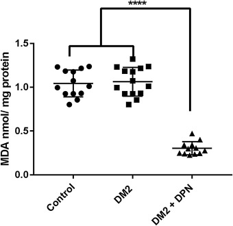 Oxidative stress markers in cognitively intact patients with