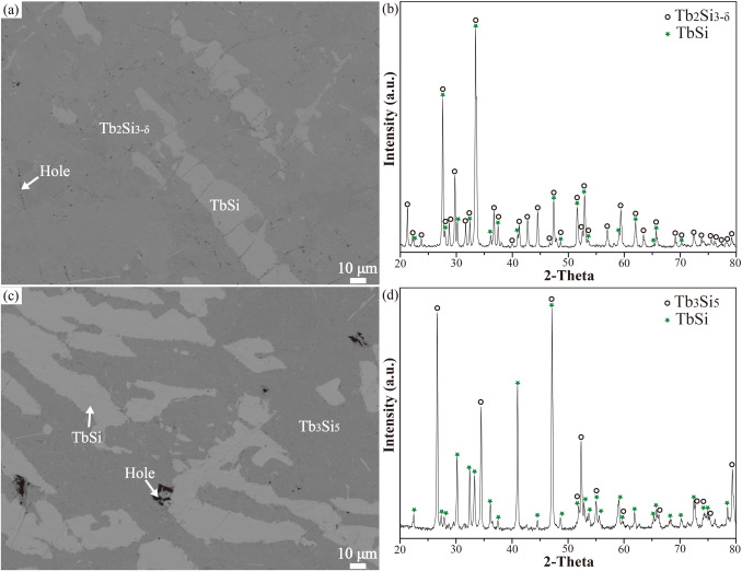Experimental investigation of phase equilibria in the Tb-Si-Cr