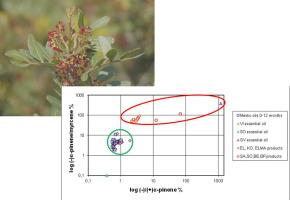 Quality profile determination of Chios mastic gum essential oil and
