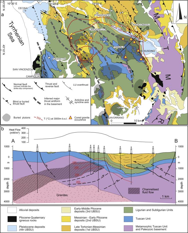 The structural evolution of the Radicondoli–Volterra Basin