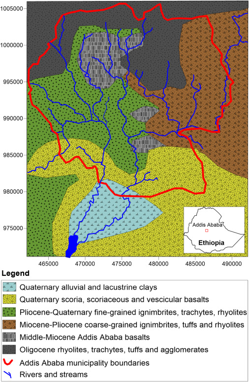 Assessment of the anthropogenic fluoride export in Addis Ababa urban