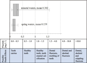 Monitoring of fluoride content in bottled mineral and spring