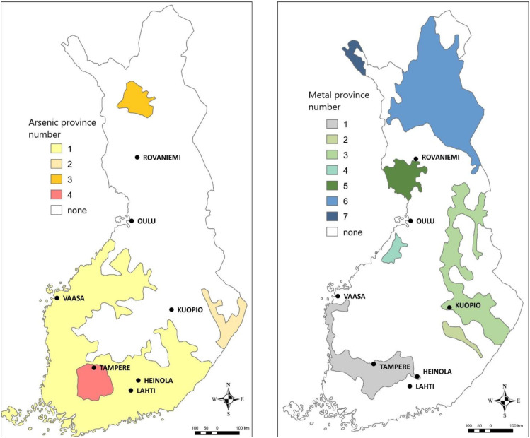 Applying Heatmaps In Interpretation Of Geochemical Baseline Data