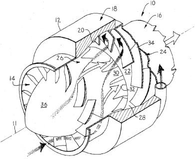 Turboshaft Engine Air Particle Separation