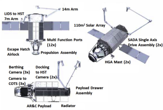 On-orbit service (OOS) of spacecraft: A review of