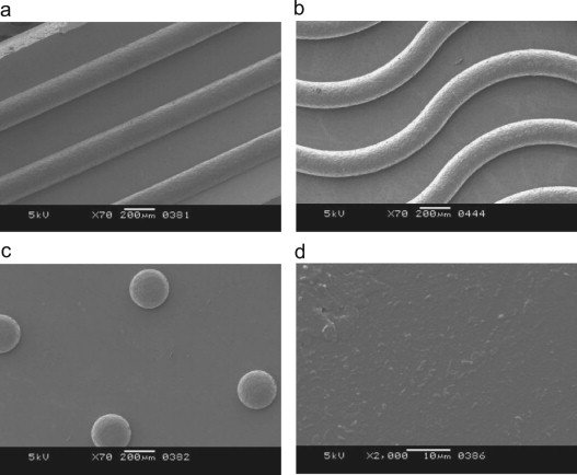 Micro-structured membranes for electricity generation by